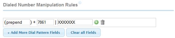 freepbx dial rule