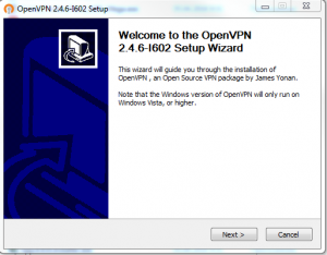 openvpn install windows